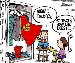 Superwoman, mommy, parenting, baby