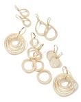 diamond earrings, stardust, earrings