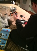 Lego, dad, instructions, game, toy