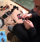 lego, dad, instruction, game, toy