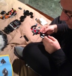 lego, dad, instruction, game, toy