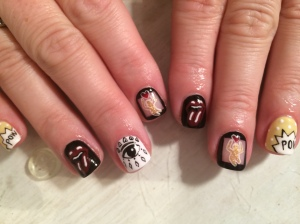 nail art, manicure, fingers, polish