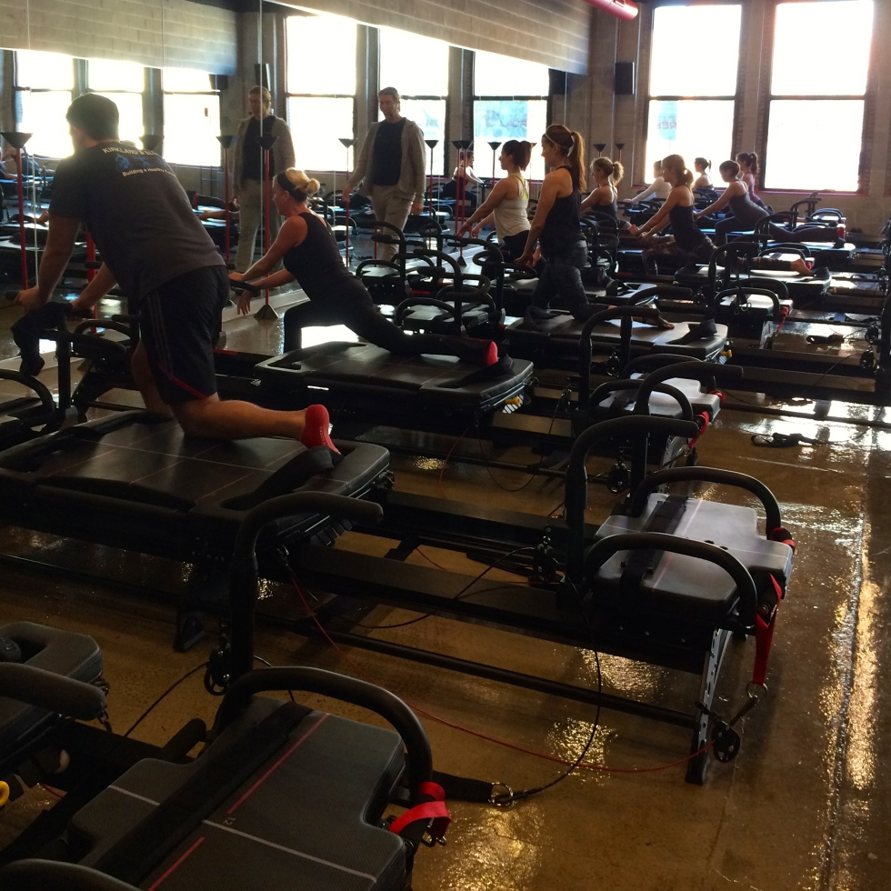 workout, exercise, pilates, reformer, chicago
